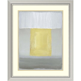 Framed Art Print 'Half Light II' by Caroline Gold 27 x 33-inch