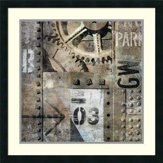 Dylan Matthews 'Industrial I' Framed Art Print 26 x 26-inch