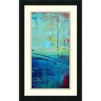 Framed Art Print 'Venice Beach II' by Erin Ashley 15 x 24-inch