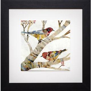 Dolan Geiman 'Warblers 2' Framed Art Print