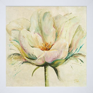 Patricia Pinto 'White Double Tulips II' Framed Art Print
