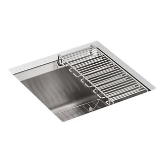 Kohler 8-degree Undermount Stainless Steel Kitchen Sink