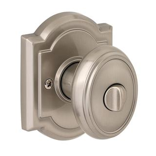 Prestige Carnaby Satin Nickel Bed/ Bath Knob