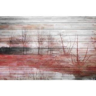 Parvez Taj 'Back Yard Lake' Fine Art Print