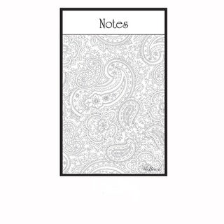 Paisley Magnetic Dry Erase Message Board