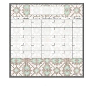 Tribal Magnetic Dry Erase Monthly Calendar