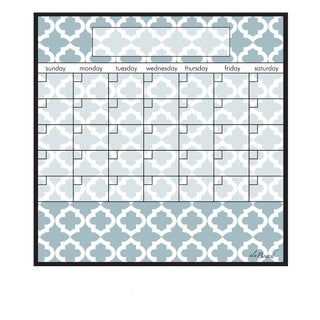 Lattice Magnetic Dry Erase Monthly Calendar