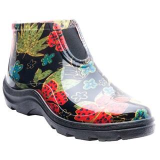 Garden Outfitters Women's Waterproof Black Ankleboot
