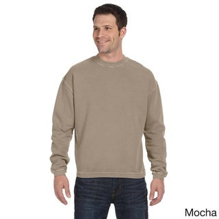 Men's Pigment-dyed Ringspun Cotton Fleece Crew