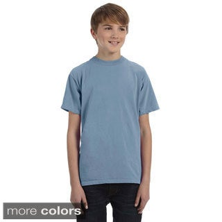 Youth Pigment-dyed and Direct-dyed Ringspun T-shirt