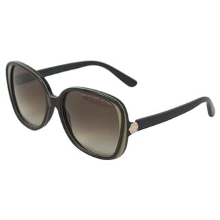 Mark Jacobs Women's MMJ 383/S 1QVHA Brown Mud Square Sunglasses