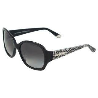 Juicy Couture Women's JU 567/S 0807 Y7 Black Leopard Rectangle Sunglasses