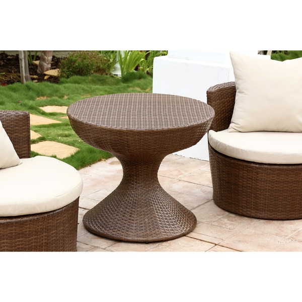 High Quality Abbyson Palermo Outdoor Wicker 3 Piece Chair Set   Free Shipping Today    Overstock.com   16418411