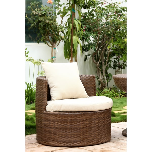 Abbyson Palermo Outdoor Wicker 3 Piece Chair Set   Free Shipping Today    Overstock.com   16418411