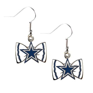 NFL Dallas Cowboys Bow Tie Earrings