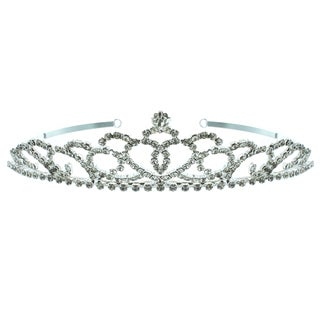 Kate Marie 'Piper' Rhinestone Tiara with Hair Combs
