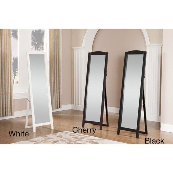 Wood Classic Standing Mirror