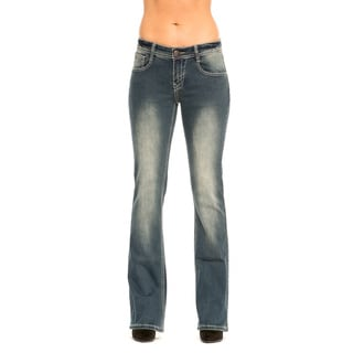 RED by Rose Royce Women's 'Monique' Dark Wash Boot cut Jeans