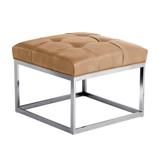 Sunpan 'Club' Sutton Small Square Ottoman