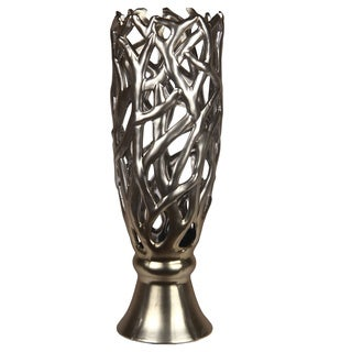 Large Metallic Vase