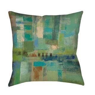 Silvia Vassileva 'Seawall' Decorative Throw/Floor Pillow