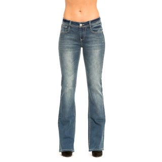 RED by Rose Royce Women's 'Shelby' Medium Wash Boot-cut Jeans