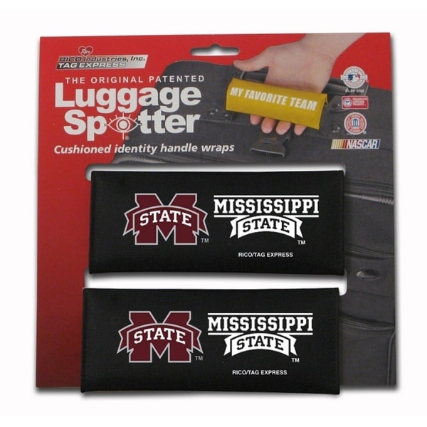 NCAA Mississippi State Bulldogs Luggage Spotter (Set of 2)