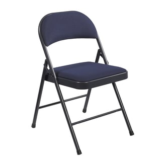 NPS Commercialine Padded Folding Chairs (Pack of 8)