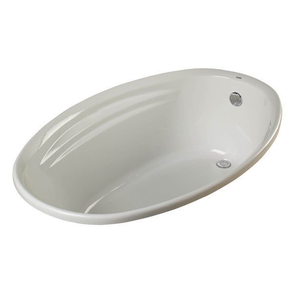 Shop Clarke Products T3858C-01 Drop-in Soaker Tub - Free Shipping ...