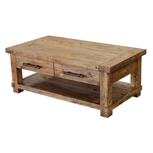 Country Coffee Table Mag Shelf