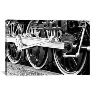 iCanvas Antique Train by Unknown Artist Canvas Print Wall Art