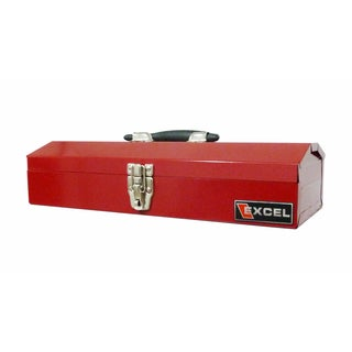 Excel 16-inch Portable Steel Tool Box
