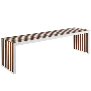 Gridiron Stainless Steel Large Bench