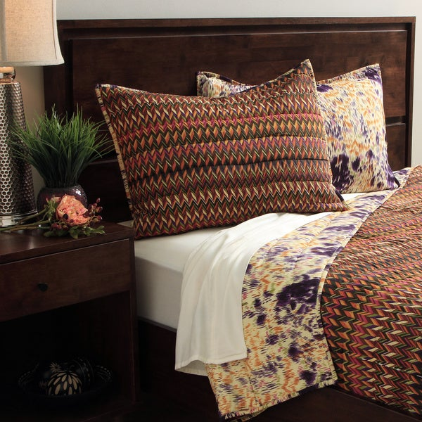 Shop Missoni Pattern 3 Piece Quilt Cover Set Free Shipping