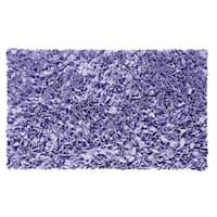 Shaggy Raggy Lavender Rug - 1'10 x 2'10