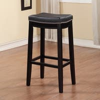 Laurel Creek Agatha Backless Bar Stool