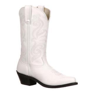 Women's Durango Boot RD4111 11 White Leather