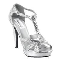Women's Dyeables Samara Silver Glitter