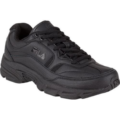 Women's Fila Memory Workshift Black/Black/Black