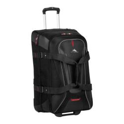 High Sierra AT7 Black 26-inch Wheeled Duffel