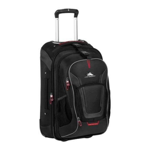 High Sierra AT7 Carry-on Wheeled Backpack Black