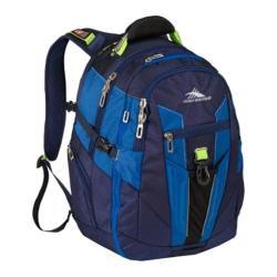 High Sierra Daypack True Navy/Royal Cobalt/Chartreuse