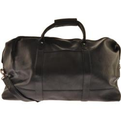Millennium Leather Vaqueta Getaway Bag Black Vaqueta Napa