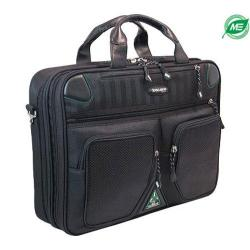 Men's Mobile Edge Checkpoint&Eco Friendly Briefcase- 16inPC/17inMac Black