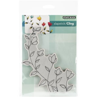 Penny Black Cling Rubber Stamp 5inX7.5in Sheet-Softly