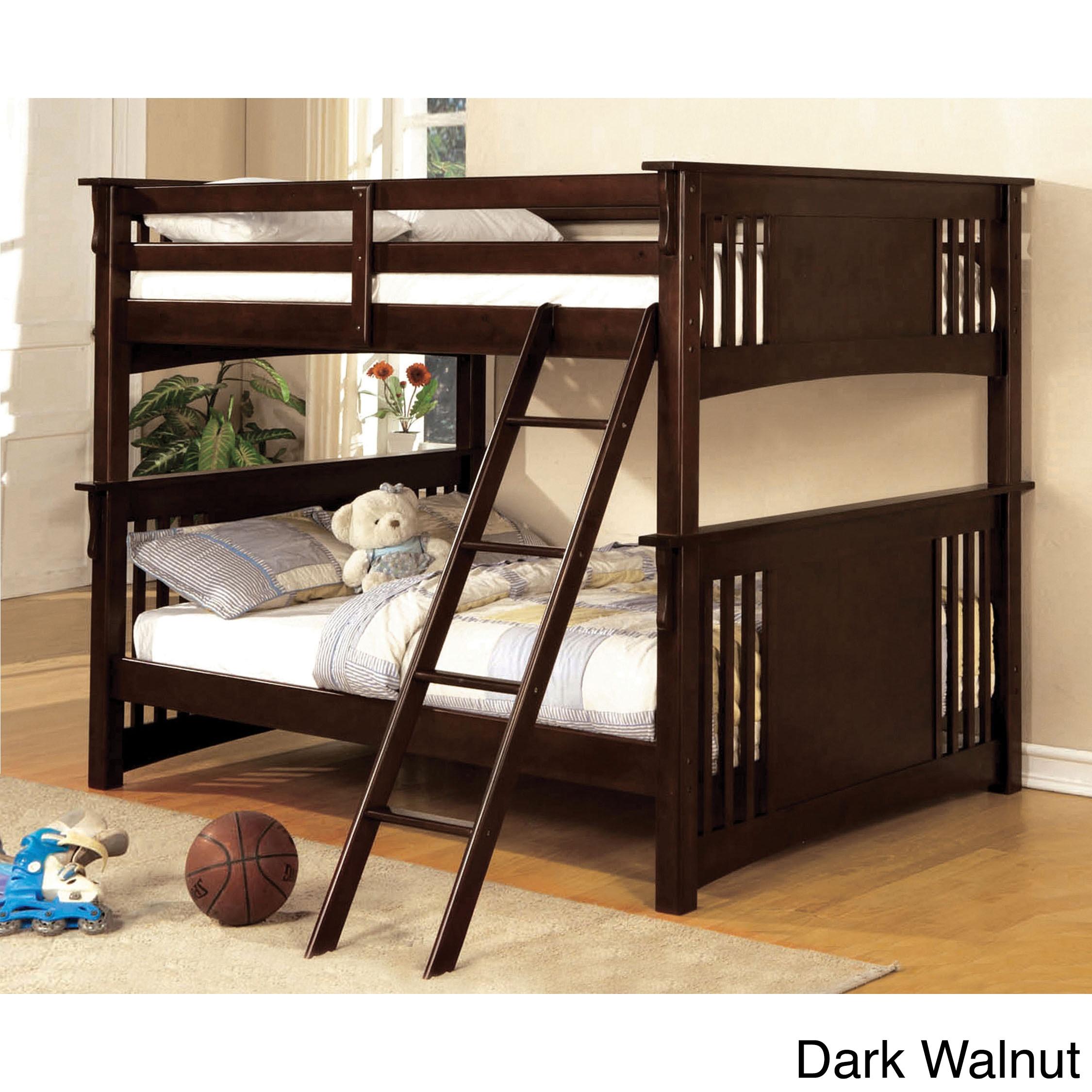 Furniture of America Ashton Youth Full over Full Bunk Bed...