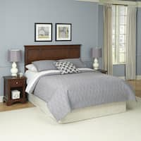 Chesapeake Headboard and Two Night Stands by Home Styles