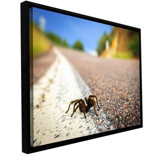 Cody York 'Tarantula' Floater-framed Gallery-wrapped Canvas