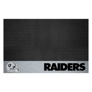 Fanmats NFL Black Vinyl Grill Mat (More options available)