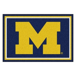 Fanmats University of Michigan Area Rug (5 x 8)